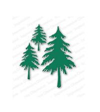 FIR TREES DIE-Impression Obsession Stamps (DIE084-V)-Nature-Steel/Wafer Dies