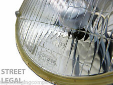 7 Inch Motorcycle Headlight Housing Glass Lens ( DOT Approved ) Street Legal 1x