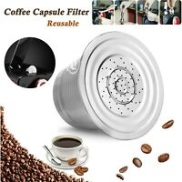 Stainless Steel Home Refillable Reusable Coffee Capsule Pod Cups For Nespresso