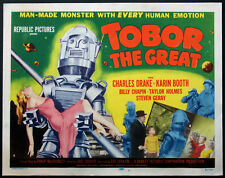TOBOR THE GREAT ROBOT SCIENCE FICTION 1954 TITLE CARD
