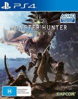 Monster Hunter World PS4 (PAL) New!