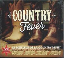 Country Fever Compilatiion  2016 Coffret 5 CD Neuf sous cellophane
