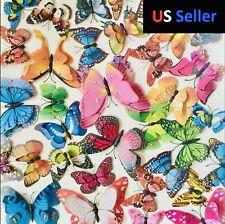 3D Butterfly Fridge Magnet Lot US SELLER (20) Pcs *Free* Ladybugs