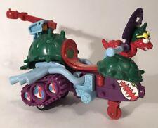 Vintage TMNT Wacky Action Bebop Sludgemobile Snowmobile Vehicle 1990 Pull Back