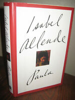 Signed 1st Edition Paula Isabel Allende Memoir 7th Printing Classic
