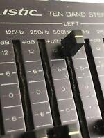 Realistic 31-2020A 10 Band Stereo Graphic Frequency Equalizer KNOB PART