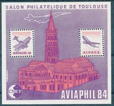 TIMBRE DE FRANCE - Bloc CNEP N° 05** Salon Philatélique de Toulouse Aviaphil 84