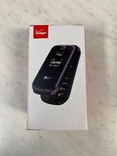 LG LG-VN170 Revere 3 Cellphone Flip Cell - Black (Verizon)