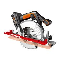 "WORX WX530L.9 ExacTrack 20V PowerShare 6-1/2"" Cordless Circular Saw (Tool Only)"