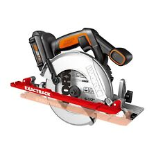 "WORX WX530L ExacTrack 20V PowerShare 6-1/2"" Cordless Circular Saw"