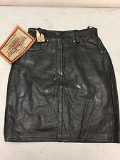 Harley-Davidson Women's XS black leather skirt mini 98245-97VW