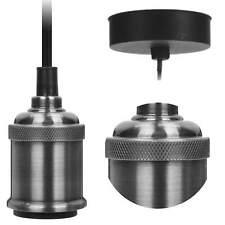 Retro Hängelampe Pendelleuchte ohne Lampen-Schirm Deckenleuchte Industrie Design