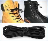 180cm Timberland Black Hiking Trekking Shoe Work Boot Laces Trek Hike 8/10 Eye