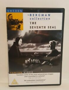 The Seventh Seal (1957) - region 0 dvd - Ingmar Bergman - Tartan dvd