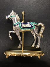 Collectible Tfm The Franklin Mint Heavy Metal Carousel Horse