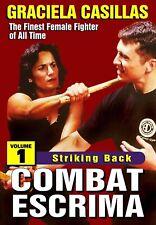 Combat Escrima #1 Striking Back Women Filipino Martial Art Dvd Graciela Casillas