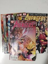 Avengers The Avengers 1-13 The Initiative 1-8 14 16 17 Annual 1 VF/VF+ Bagged
