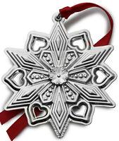 Gorham Annual Sterling Silver Snowflake Ornament 2015 NIB