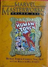 MARVEL MASTERWORKS VOL 88 Golden Age Human Torch Gold Foil Variant HC 1st Print