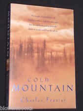 CHARLES FRAZIER: Cold Mountain-US Civil War-1997-1st, American History