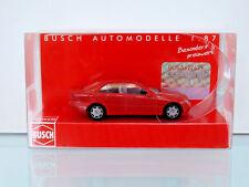 Busch 89135 - H0 1:87 - MERCEDES C rojo - Nuevo en EMB. orig.