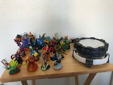 Activison Skylander Action Figures Lot Of 22 Game Characters & Traptanium Portal