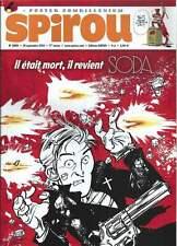 JOURNAL DE SPIROU N°3989 . 2014 + POSTER ZOMBILLÉNIUM . ( 177 ) .