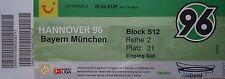 TICKET BL Sitz Hannover 96 - Bayern München