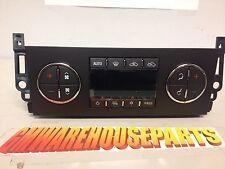 2008-2011 SILVERADO SIERRA CREW CAB XTD CAB A/C HEATER CONTROL NEW GM # 25936131