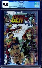 Gen13 #1 CHROME CGC 9.0 ONLY AVAILABLE IN THE RED ARTIST PROOF BOX unsigned