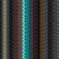 NORO ::Taiyo #105:: cotton silk wool yarn Jade-Browns-Tan-Grey
