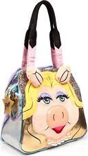 Irregular Choice Muppets Hiii-yaaa Borsa donna Miss Piggy Due maniglia HANDBAG nuova