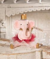 Bethany Lowe Designs: Valentine's Day; My Silly Valentine Elephant, Item #MA9255