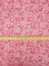Pink Lace Bubble Gum Pink Burnout Floral Motif  54 Wide Apparel  Bfab