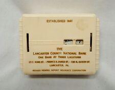 Still Bank CALENDAR Style lancaster county National Bank PA Vintage USA