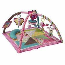 Infantino Go GaGa Deluxe Twist and Fold Activity Gym & Play Mat Music AU