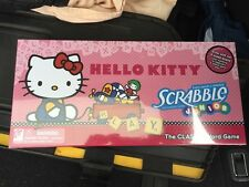 Hello Kitty Scrabble Junior Game New classic word game, 100 Letter Tiles & Sacs.