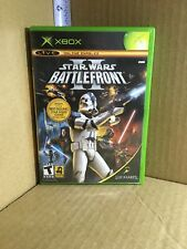 Star Wars: Battlefront II 2 (Microsoft Xbox, 2004) Complete Tested
