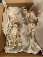 Old Paris Bisque Porcelain Figurines