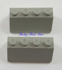 LEGO  LIGHT GRAY SLOPE 2x4 -  7838 5580 6597 7190 6952 7180 - Lot of Six