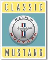Ford Mustang Metal Tin Sign Bar Garage Shop Man Cave Home Wall Decor New