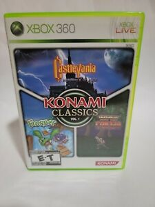 Konami Classics: Vol. 1 (Microsoft Xbox 360, 2009) tested and working complete