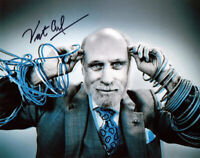 VINT CERF SIGNED 8x10 PHOTO CREATOR FATHER OF THE INTERNET PIONEER BECKETT BAS