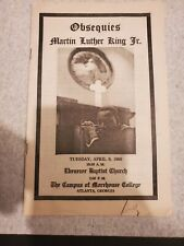 Copy Of Obsequies Martin Luther King Jr.