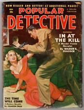 Popular Detective Nov 1950; Wilbur S. Peacock; Frances Beck; Ray Cummings