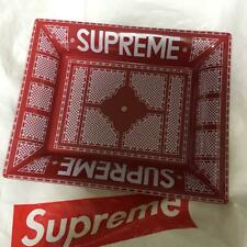 Supreme Ceramic tray accessory plate Red japan first shipping
