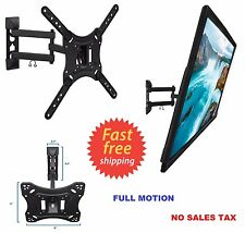 TV Wall Mount Full Motion Swivel Bracket 32 40 42 47 55 Inch LED LCD Flat Screen