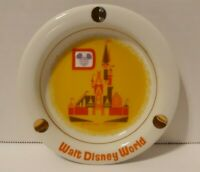Vintage Walt Disney World 1970's Ceramic Souvenir Ashtray