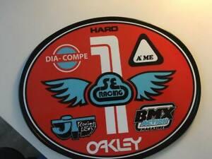 Old School OVAL BMX Number plate by OGK JAPAN -SE RACING BMX