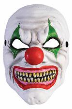 Scary Horror Clown Foam Halloween Mask